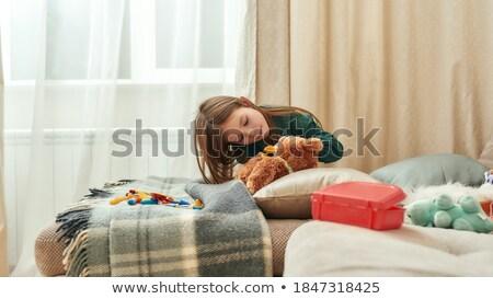 девушки · играет · врач · красивая · девушка · ребенка - Сток-фото © photography33