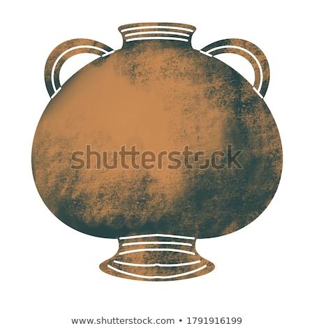 Greece ceramic pots Stock photo © Alenmax