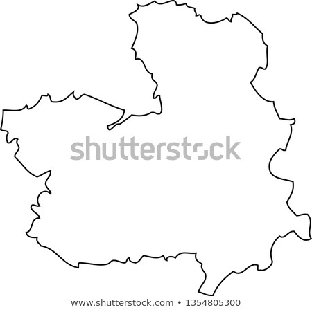 Map of Castile-La Mancha (Spain) Stock photo © Schwabenblitz