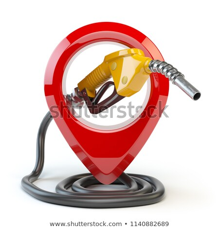 diesel · palabra · ruedas · blanco · 3d · camión - foto stock © magraphics
