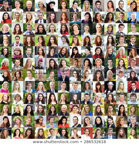 Zakenlieden 18 drie een vrouw vrouw Stockfoto © Forgiss