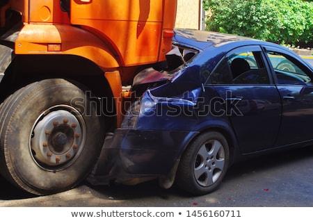 crashed truck stock photo © mikdam
