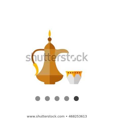 ストックフォト: アラブ · 製品 · 観光客 · スタンド