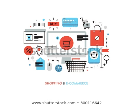 Buy or Sell Concept with Bag Stock photo © 2tun