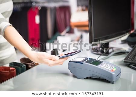 hareketli · ödeme · alan · iletişim · teknoloji · para - stok fotoğraf © redpixel