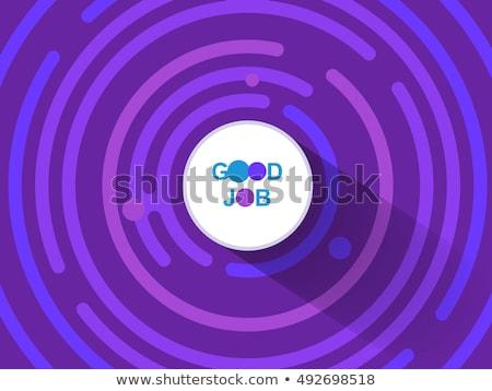 Roxo abstrato fundo teia magia estilo Foto stock © Kheat