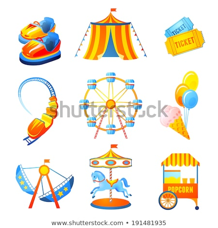 Icon marry go round Stock photo © zzve