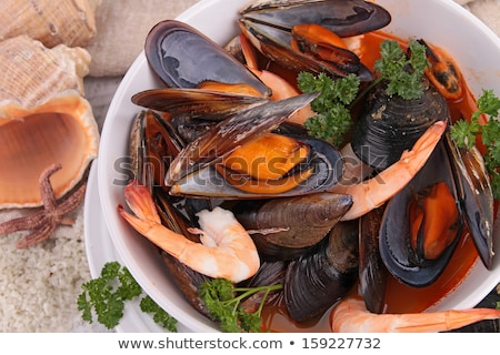 crustacean soup Stock photo © M-studio