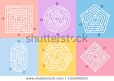 labyrinth Stock photo © silense