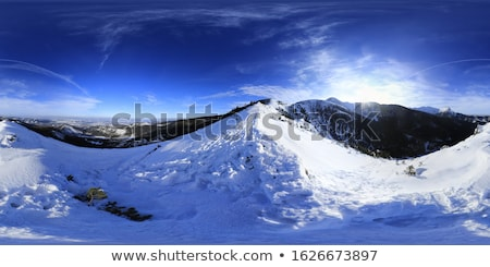 Spherical Mountain Landscape Stock photo © Kirill_M