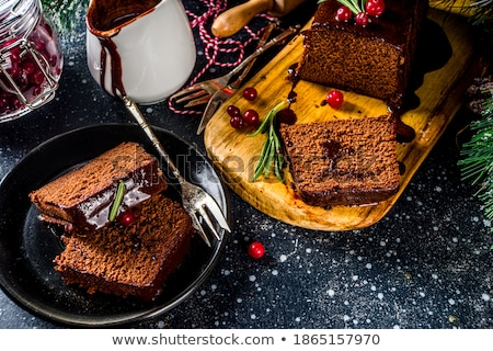 gingerbread cake Stock photo © M-studio