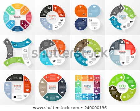 Data Processing Concept on Striped Background. Stock photo © tashatuvango