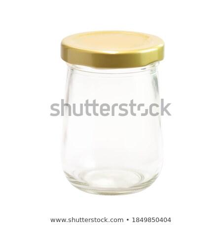 металл · олово · кухне · изолированный · белый · кофе - Сток-фото © myfh88