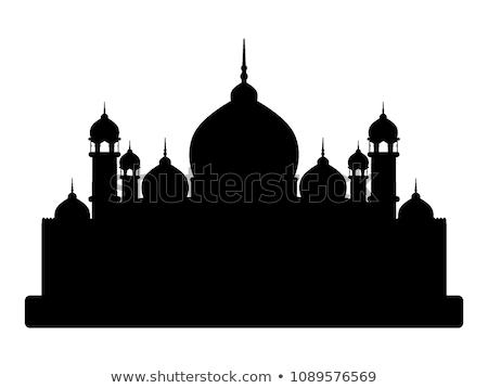 силуэта рамадан арабский сценария аннотация Сток-фото © valkos