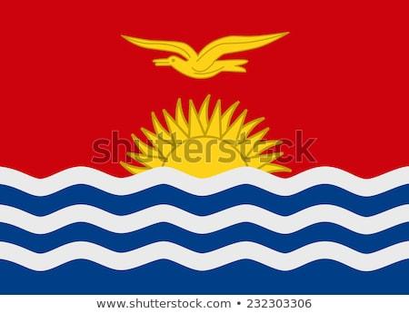 Flag Kiribati Stock photo © Ustofre9