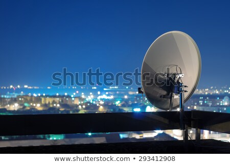 tv satellite dish stock photo © rghenry
