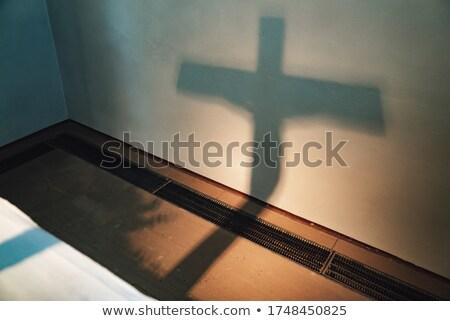 Cross shadow Stock photo © gemenacom