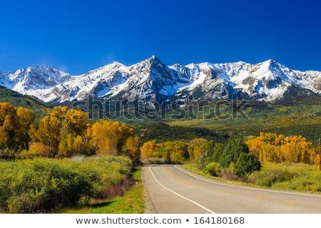 Колорадо горные дороги осень стране Сток-фото © emattil