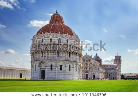 Baptistery in Pisa Stock photo © sailorr