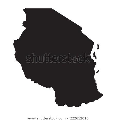 Танзания карта различный белый земле Сток-фото © mayboro1964