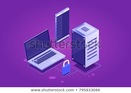 ファイル 紫色 ベクトル アイコン デザイン デジタル ストックフォト © rizwanali3d