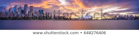 Sydney panorama porto Austrália ver Foto stock © dirkr