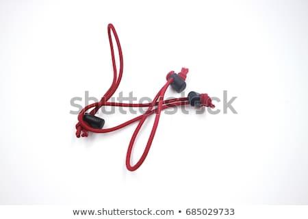 tied telephone patchcord stock photo © vtls