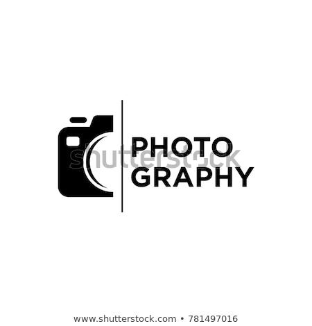 absztrakt · kamera · redőny · logo · kitűnő · eps - stock fotó © mcherevan