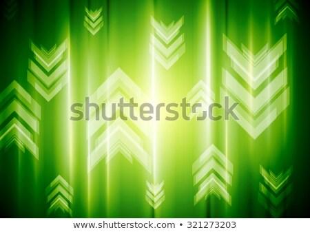 neon · pijl · elektronische · lampen · bar - stockfoto © saicle