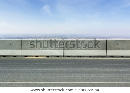 about concrete barriers Stock photo © OleksandrO