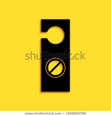 заблокированный не долго два ворот блокировка Сток-фото © stockfrank
