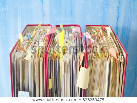 Catalog on desk in office Stock photo © simply
