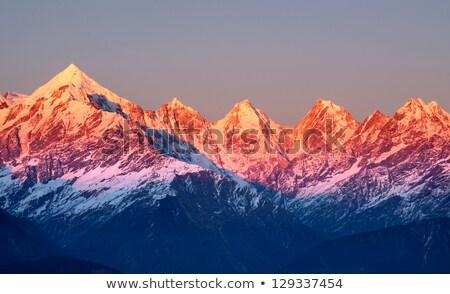 landscape with mountain peak 5 stock photo © genestro