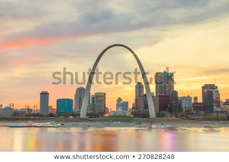 Gateway Arch in St. Louis, Missouri. Stock photo © asturianu