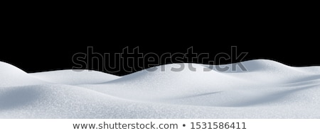 Snowdrift. Stock photo © Fisher