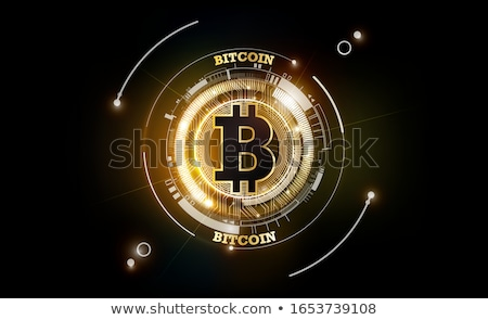 bitcoins digital currency technology background Stock photo © SArts