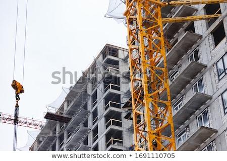 construction building site scene stock photo © krisdog