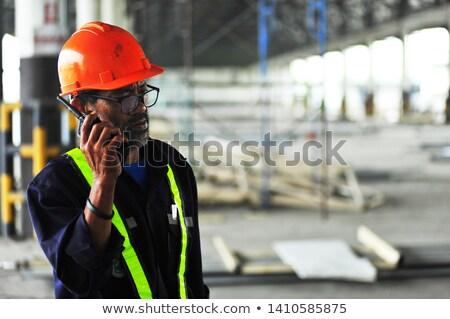 Işçi adam çalışma makine Stok fotoğraf © IS2