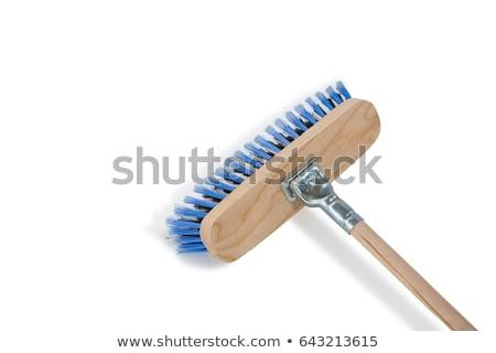 Kép seprű fekete takarítás minta vegyi Stock fotó © wavebreak_media