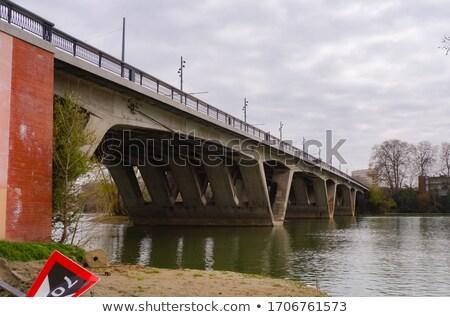 Pont Saint Michel in Toulouse Stock photo © benkrut