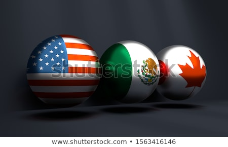 united states mexico canada trade agreement stock photo © lightsource