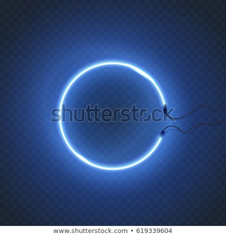 Electric Bulb of Rounded Shape Isolated Vector Stock photo © robuart