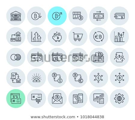 monetario · beneficio · empresario · tabla · símbolo · creciente - foto stock © robuart