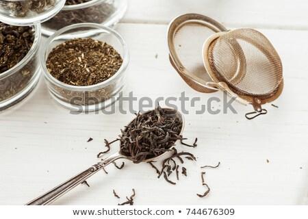 высушите чай листьев цветок продовольствие Сток-фото © brebca