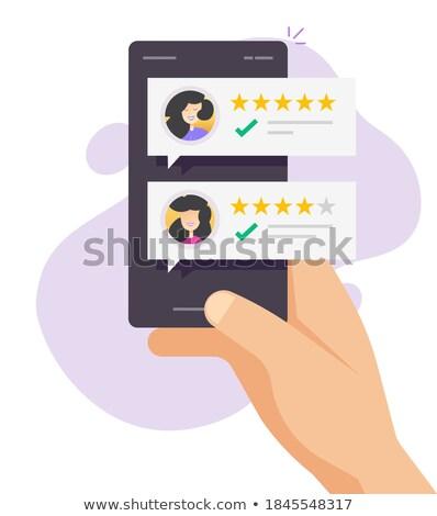 Klienta usług komunikacji obsługa klienta telefonu wsparcie Zdjęcia stock © NikoDzhi