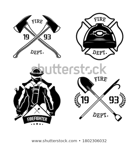 human template firefighter Stock photo © romvo