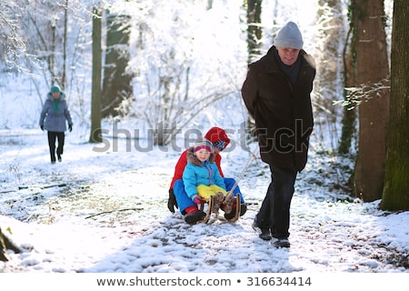 Teenage Boy With Sledge stock photo © monkey_business