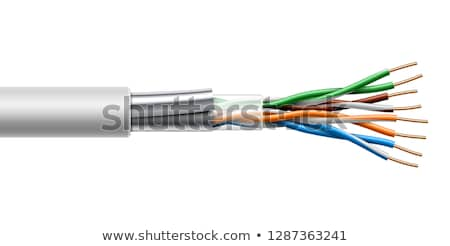 Сток-фото: интернет · кабелей · спиральных · красочный · образование · символ