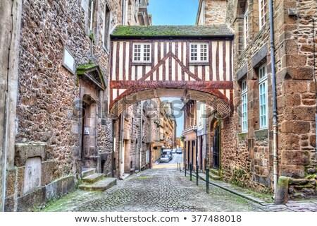 street in Saint-Malo, France Stock photo © borisb17