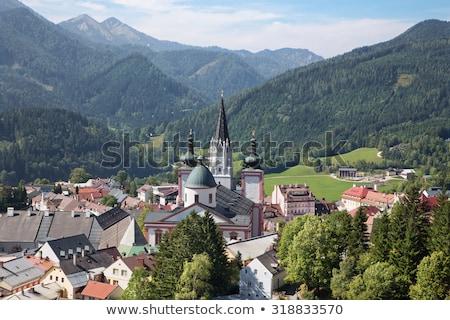 Mariazell Basilica, Austria Stock photo © borisb17